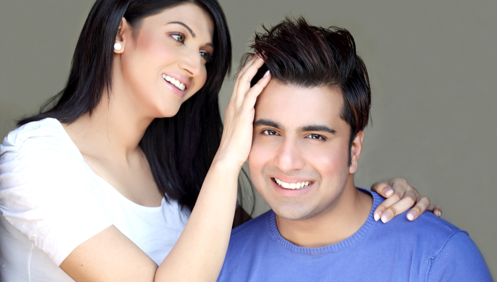 Sana and Fakhar After Hair Transplant
